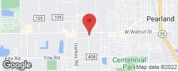 Map of 5740 Broadway St in Pearland