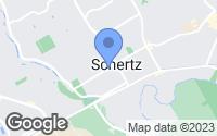 Map of Schertz, TX