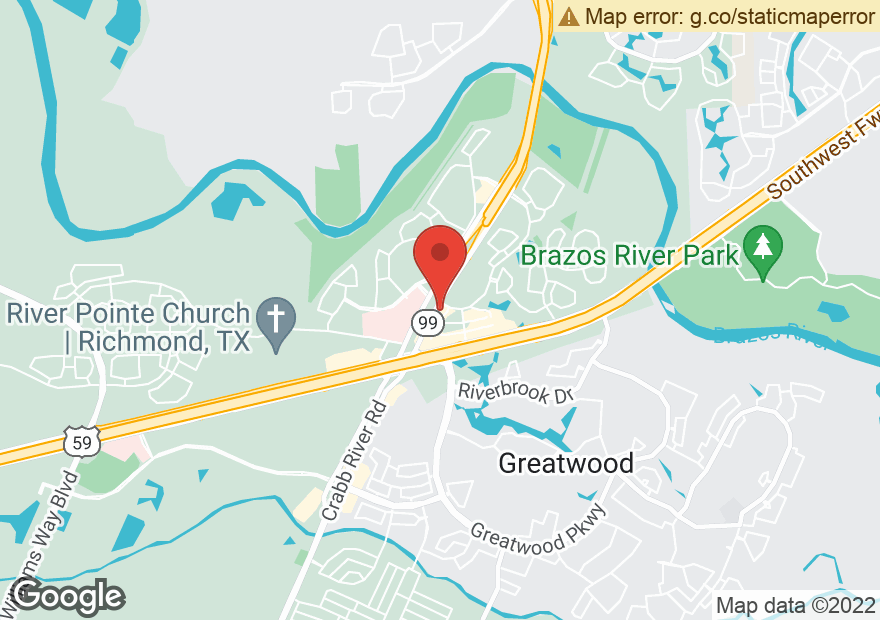 Google Map of 17330 W GRAND PKWY S