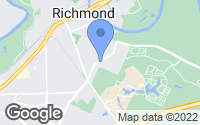 Map of Richmond, TX