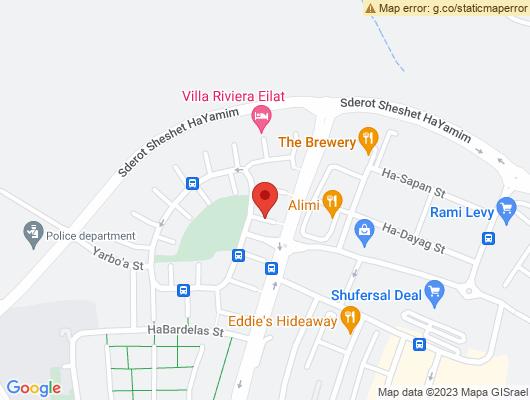 Google Map of רחוב הדייג 3, ת.ד 2190, אילת