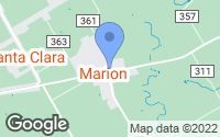 Map of Marion, TX