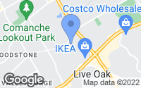 Map of Live Oak, TX