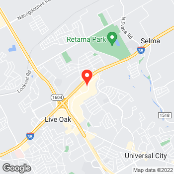 Map of Pizza in Selma, TX – Cicis Pizza at 8327 Agora Pkwy, Selma, TX 78154