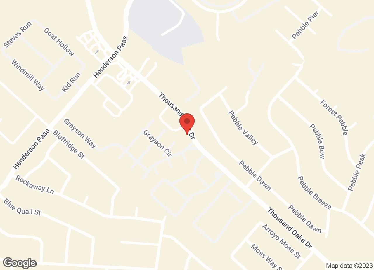 Google Map of VCA Henderson Pass Animal Hospital