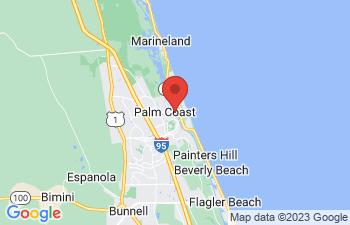 Map of Palm Coast