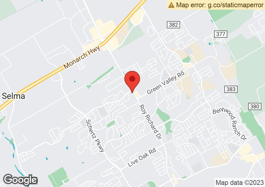 Google Map of 3801 FM 3009