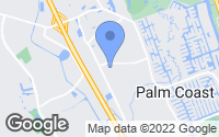 Map of Palm Coast, FL