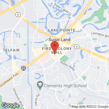 Map of Michael Kors at 16535 Southwest Fwy, Sugar Land, TX 77479