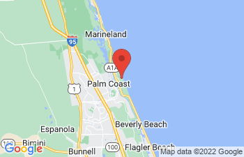 Map of Palm Coast