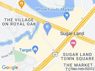 Map of Dog Training Sugar Land, TX Dog Boarding options in Sugar Land | Boarding