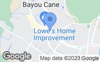 Map of Houma, LA