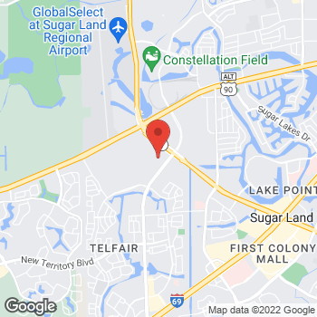 Map of RediClinic at 530 Hwy 6, Sugar Land, TX 77479