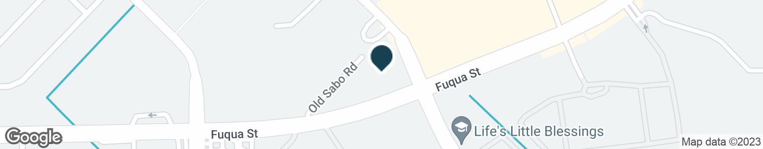Google Map of10997 FUQUA ST