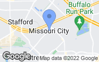 Map of Missouri City, TX
