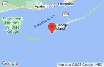 Map of St George Island