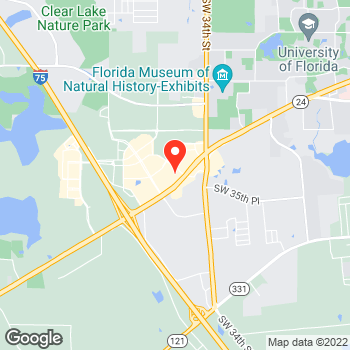 Map of Pizza in Gainesville, FL – Cicis Pizza at 3246 Sw 35Th Blvd., Gainesville, FL 32608