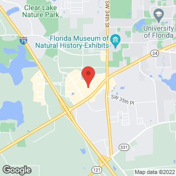 Map of Guitar Center at 3210 SW 35th Blvd, Gainesville, FL 32608