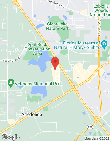 Map of Barbara Vaught - TIAA Financial Consultant at 5001 Celebration Pointe Ave, Gainesville, FL 32608