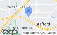 Map of Stafford, TX