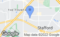 Map of Stafford, TX