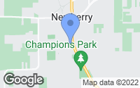 Map of Newberry, FL