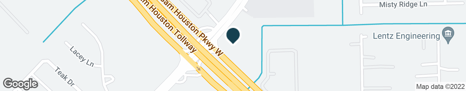 Google Map of12611 S GESSNER RD