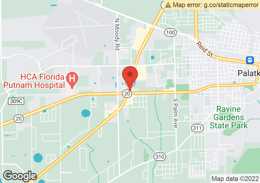 Google Map of 719 S STATE ROAD 19