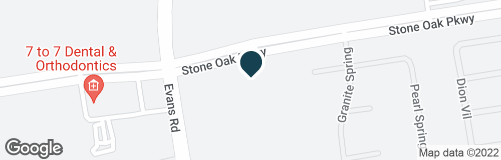 Google Map of20226 STONE OAK PKWY
