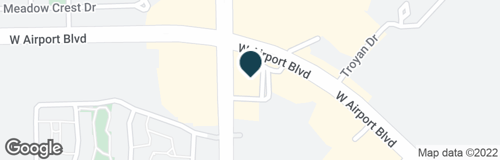 Google Map of11675 W AIRPORT BLVD