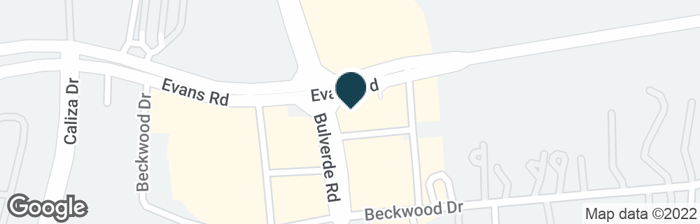 Google Map of22114 BULVERDE RD