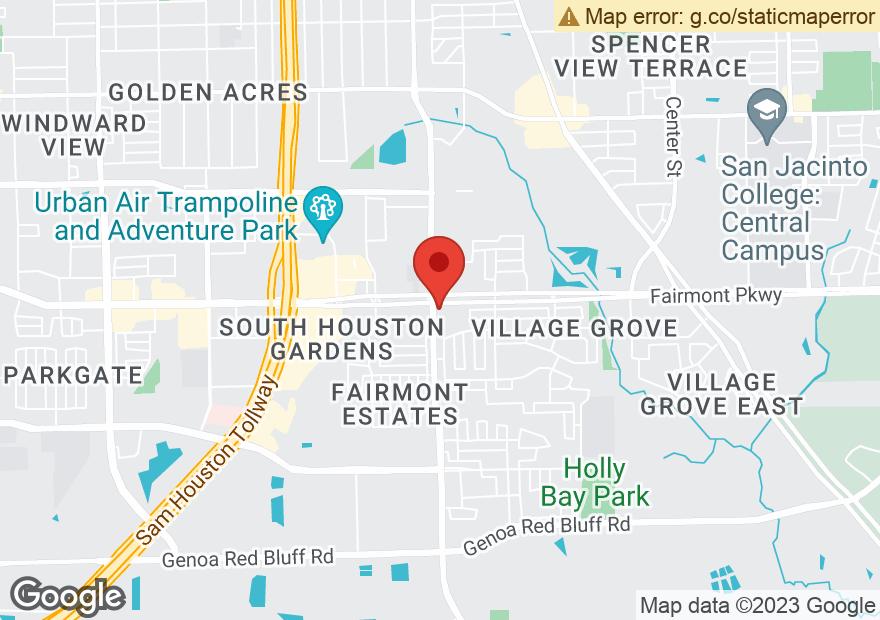 Google Map of 6302 FAIRMONT PKWY