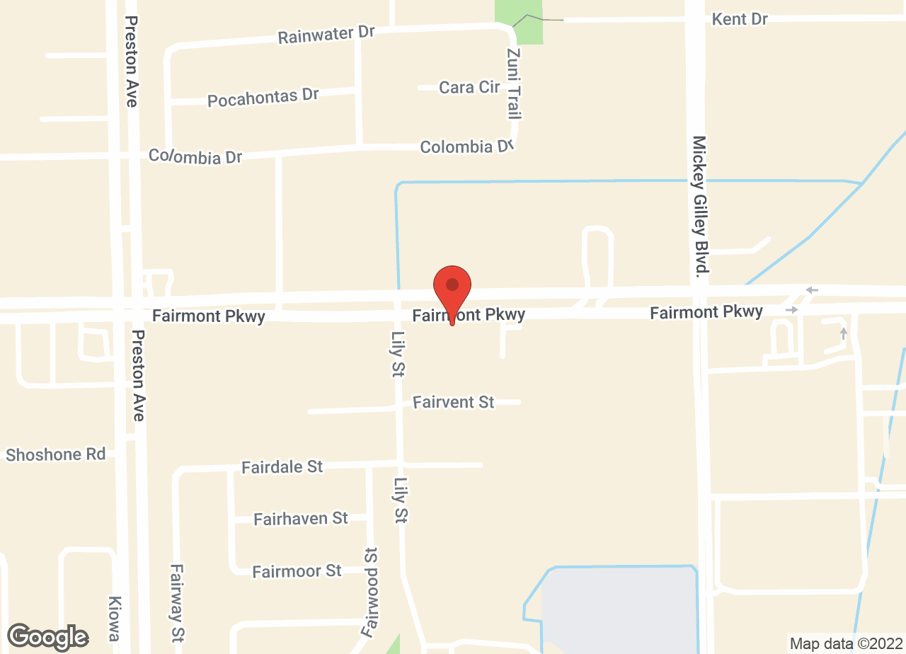 Google Map of VCA Animal Medical Center of Pasadena