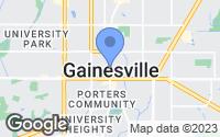 Map of Gainesville, FL