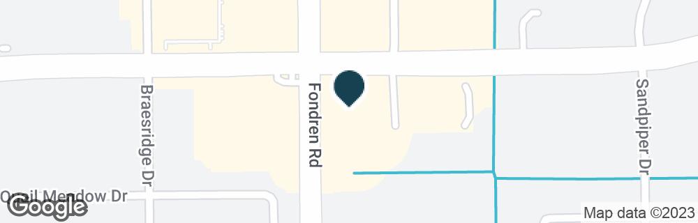 Google Map of6675 W BELLFORT ST