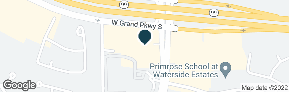 Google Map of9810 S MASON RD