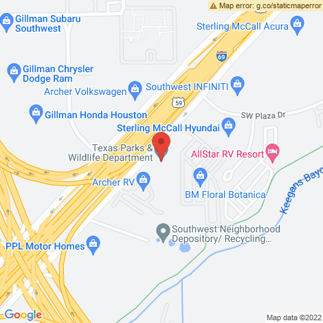 The Bryant Financial Group @ Houston - Location Map