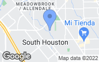 Map of South Houston, TX