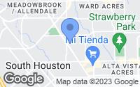Map of Pasadena, TX