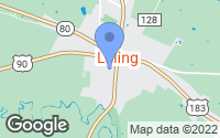 Map of Luling, TX