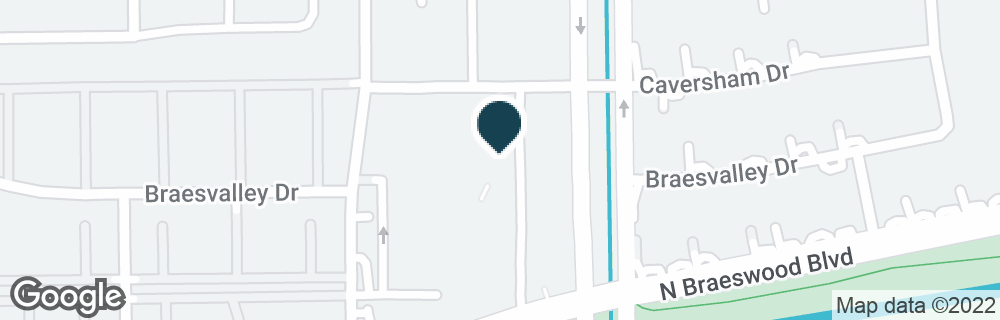 Google Map of5300 N BRAESWOOD BLVD