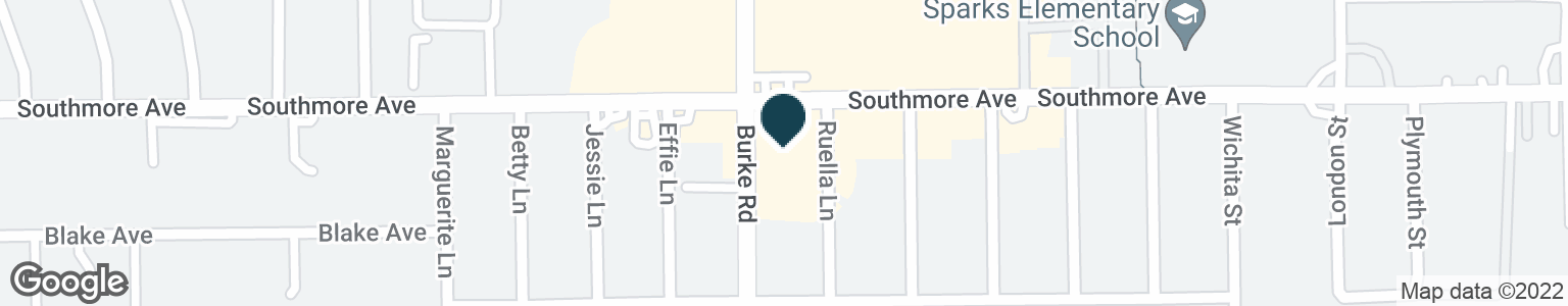 Google Map of2204 SOUTHMORE AVE