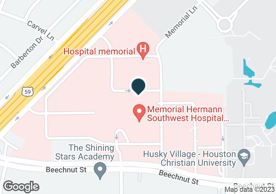 Google Map of7777 SOUTHWEST FWY
