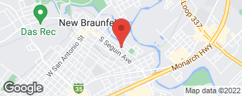 Map of 618 Comal Ave in New Braunfels