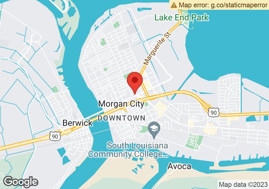 Google Map of 815 BRASHEAR AVE