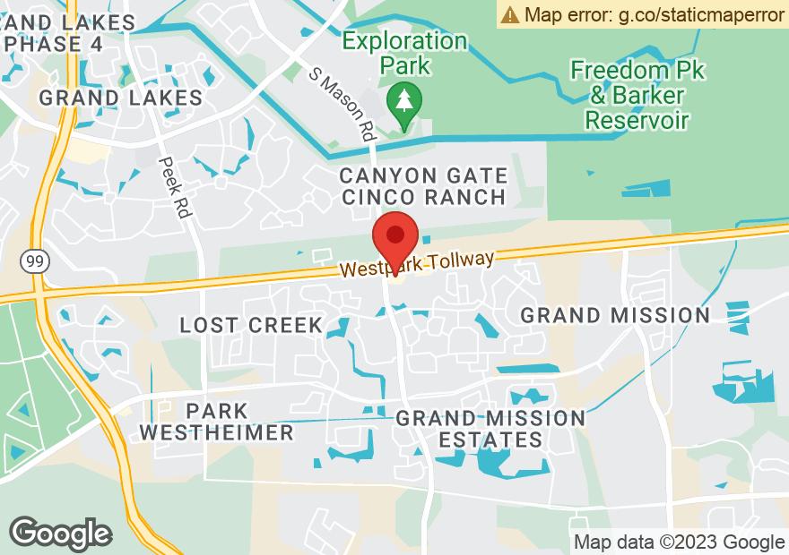 Google Map of 20675 FM 1093 RD