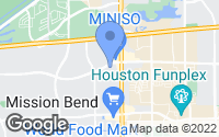 Map of Houston, TX