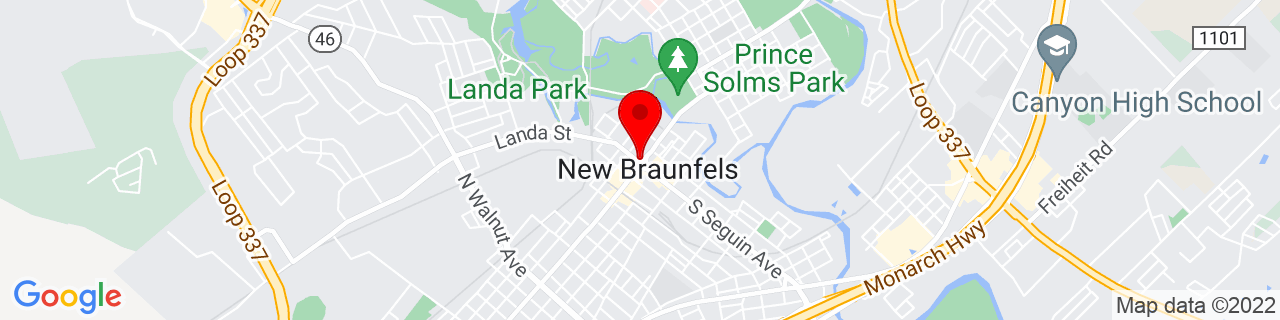 Google Map of 29.7032305, -98.1247248