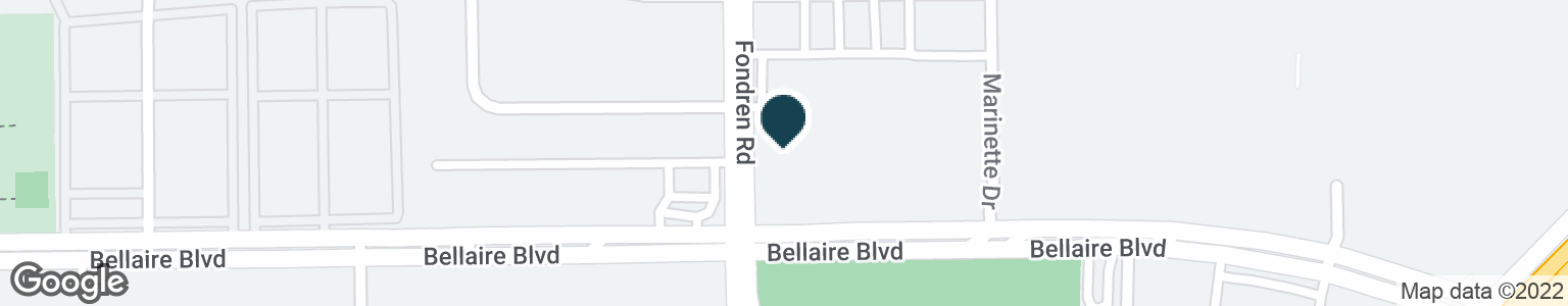 Google Map of7634 BELLAIRE BLVD