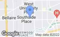 Map of West University Place, TX